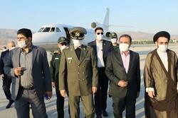 ایرانی وزیر دفاع لرستان پہنچ گئے