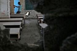 Siyonist Rejim'den Gazze'deki bir okula füze saldırısı