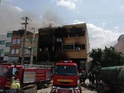 کمبود تجهیزات آتش نشانی در شرق گلستان/۶شهربرای مهارآتش به خط شدند