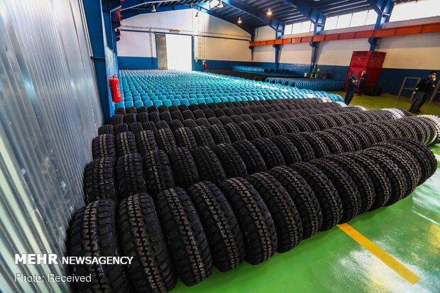واگذاری ۳میلیون حلقه لاستیک سنگین دولتی به رانندگان در ۳ سال اخیر