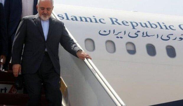 وزير الخارجية الايراني يصل الى بيروت
