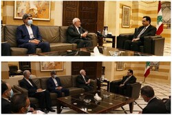 Some seeking to destabilize Lebanon, Zarif tells Diab
