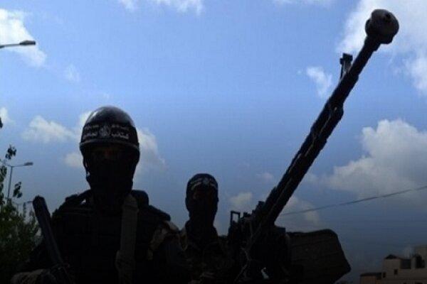 سرنگونی پهپاد رژیم صهیونیستی در شرق غزه