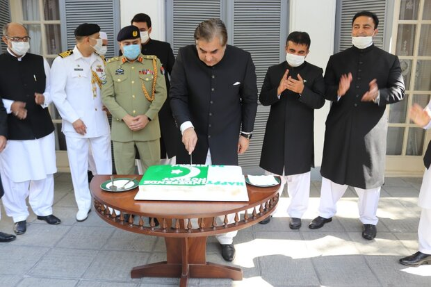 Pakistan Independence day celebrated in Tehran