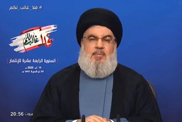 Hizbullah liderinden BAE-İsrail anlaşmasına tepki