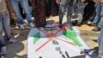 Filistin'de BAE-İsrail anlaşması protesto edildi