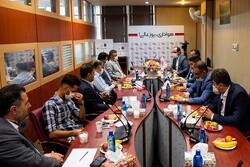تفاهم همکاری ایران کیش با باشگاه نساجی مازندران