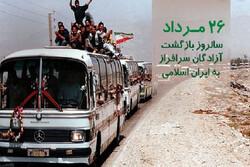 آزادگان گنجینههای ارزشمند مقاومت ملت ایران هستند