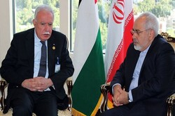 Zarif emphasizes Iran's support for Palestinians
