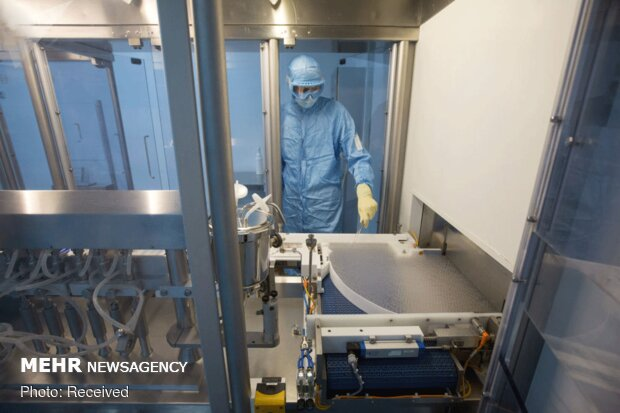 خط تولید واکسن روسی کرونا