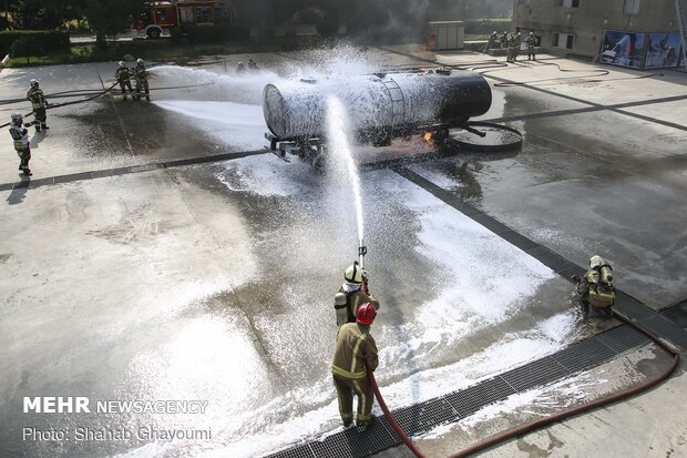 New fire station inaugurated in Tehran