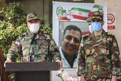 مدافع سلامت شہید بریگیڈیئر اصغر عیسی آبادی کی تشییع جنازہ