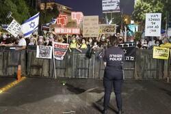 مظاهرات بالآلاف ضد سياسية نتنياهو الفاشلة في القدس المحتلة