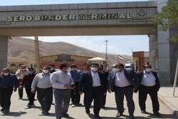 ۱۰ درصد ترانزیت کشور از پایانه های آذربایجان غربی انجام می شود