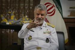 قائد البحرية الايرانية: حققنا انجازات جيدة وسنعلن عن منظومة جديدة بحلول نهاية العام الجاري