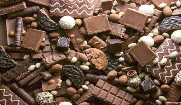 إيران تصدر ما يعادل نحو 153 مليون دولار من الشوكولاتة والحلويات الى 56 بلد