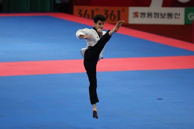 Khuzestan taekwondokas win medals at intl. online competition
