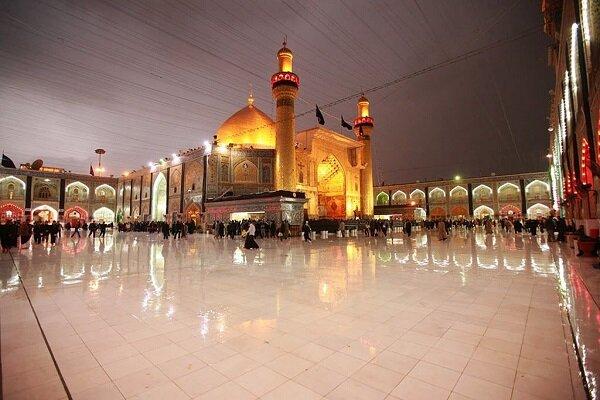 VIDEO: Holy shrine of Imam Hussein (PBUH) blanketed in black