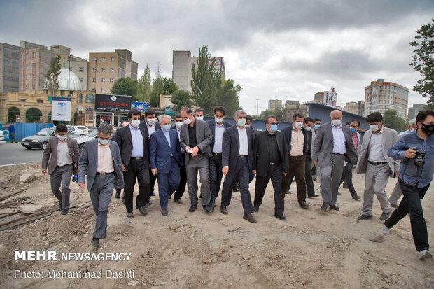 VP visits Ardabil to pursue provincial development affairs