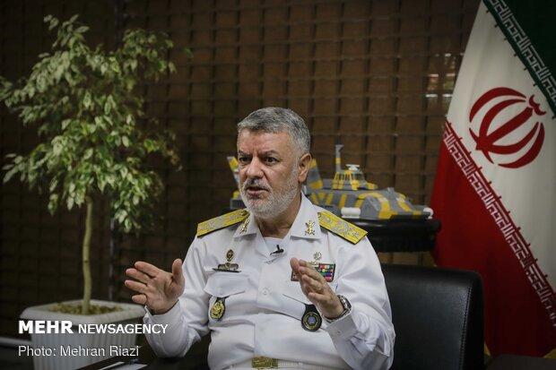 القوة البحرية للجيش الايراني كانت ومازالت رائدة في مجال جهاد الاكتفاء الذاتي