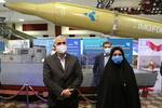 بازدید اعضای کمیسیون امنیت ملی مجلس از نمایشگاه دستاوردهای دفاعی