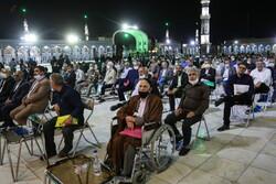 قم میں محرم الحرام کی آمد سے قبل مداحوں اور ذاکرین کا اجتماع