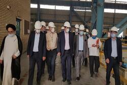 استاندار یزد از مجتمع آهن و فولاد سرمد ابرکوه بازدید کرد