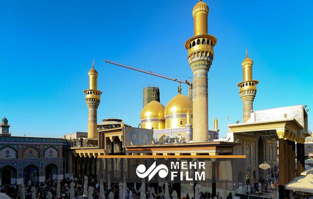 VIDEO: Shiite holy shrines in Kazemein blanketed in black