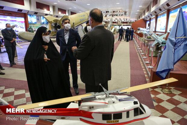 Parliament's members visit MOD's achievements' exhibition
