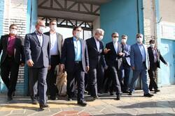 Minister of Cultural Heritage visits Semnan province