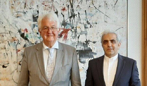 السفير الايراني في فيينا يجري محادثات حول التعاون الاقتصادي مع مسؤولين من النمسا وسلوفاكيا