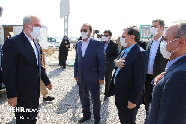 Minister of Tourism visits Semnan province