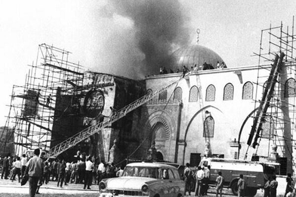 Palestine burning in fire of Zionist regime's impudence