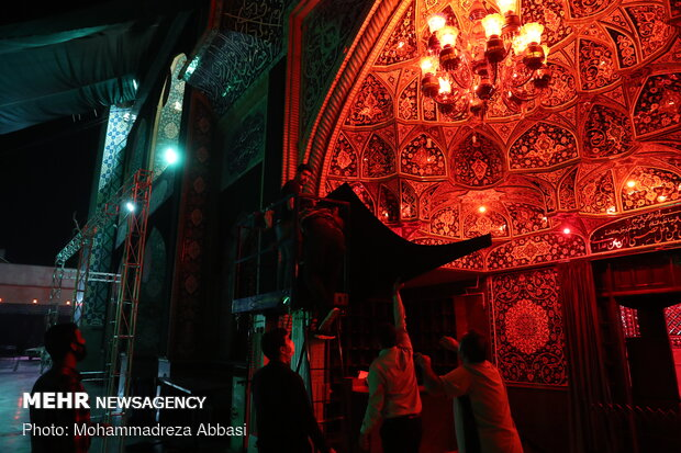 Holding Muharram ceremonies with health protocols in place