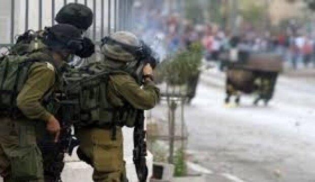 إختناق عشرات الفلسطينيين اثر اقتحام الاحتلال جنين