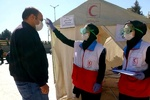 اجرای طرح ایمنی جاده ای در نوروز ۱۴۰۰ توسط جوانان هلال احمر/ آزمایش سلامت هموطنان در جادهها
