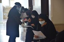 کنکور سراسری با رعایت پروتکل بهداشتی در دانشگاه بجنورد برگزار شد