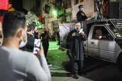 تہران میں محرم الحرام کی پہلی شب میں عزاداری