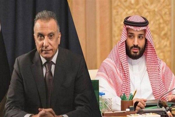 الکاظمی و ولیعهد سعودی رایزنی کردند