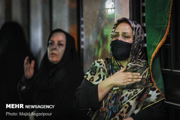 موكب عزاء حسيني جوال شرق العاصمة طهران