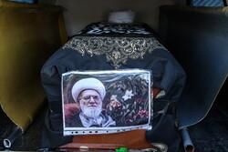 قم میں آیت اللہ تسخیری کی تشییع جنازہ اور تدفین