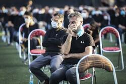 """مراسم العزاء الحسينية في ملعب """"الشهيد سعيدي"""" بالعاصمة طهران / صور"""