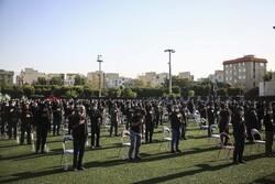 شہید سعیدی اسٹیڈیم میں عزاداری کا سلسلہ جاری