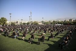 عزاداری روز اول محرم در ورزشگاه شهید سعیدی