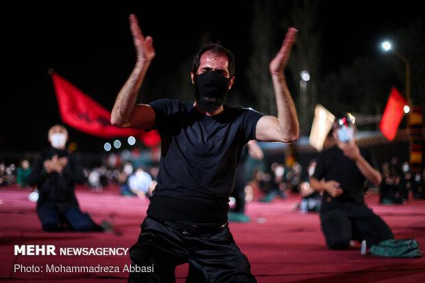 عزاداری شب اول محرم در هیات ریحانه الحسین(ع)