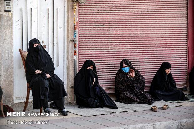 عطر روضه در کوچه های شهر - زنجان