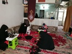 چادر مشکی بانوان نیشابوری رخت عزای شهر شد