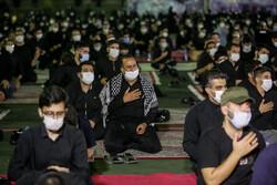 انجمن محبان الرضا کی طرف سے محرم کی دوسری شب میں مجلس عزا