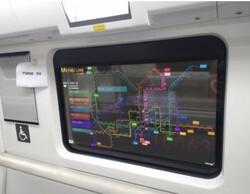 ال جی نمایشگر شفاف برای متروی چین می سازد