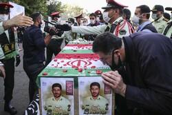 شہید حامد ضابط کی تشییع جنازہ